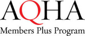 AQHA Members Plus Program logo