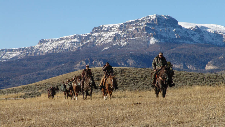 Hunting pack trip at Absaroka Ranch