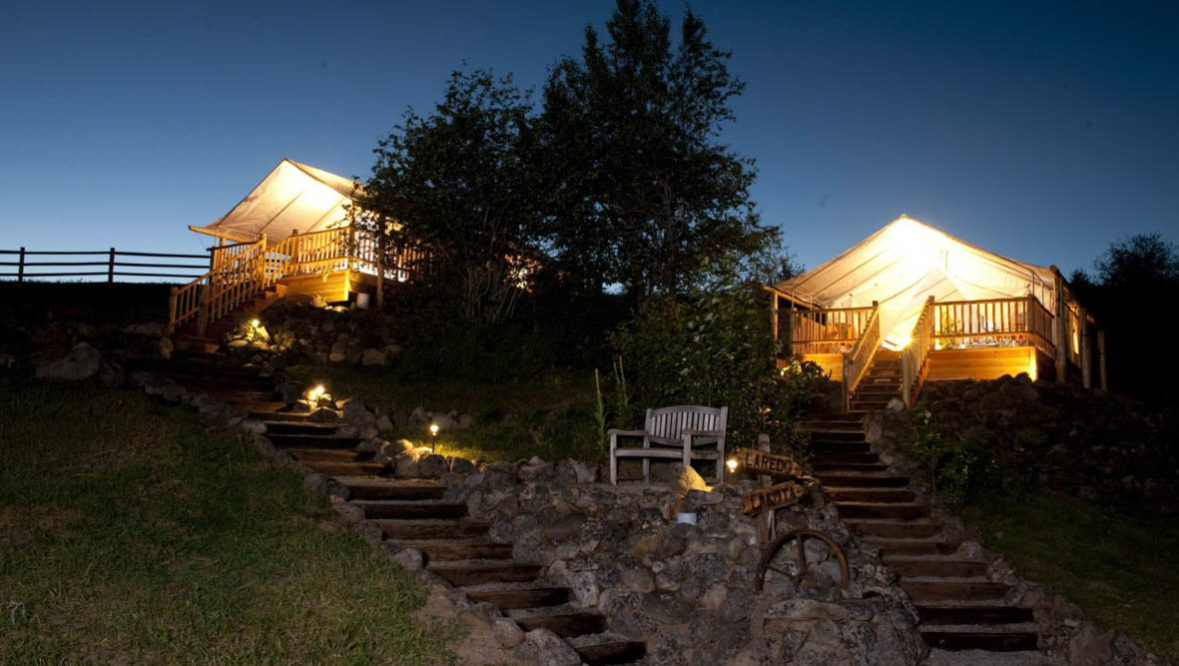Glamping at Bull Hill Ranch