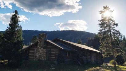 Cabin at Elkhorn Ranch Montana