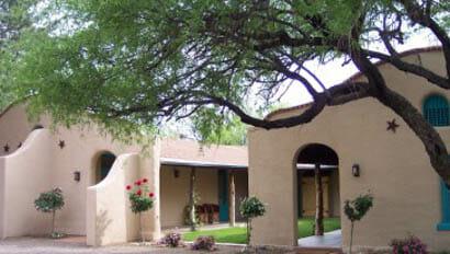 Casa Rosa lodge at Circle Z Ranch