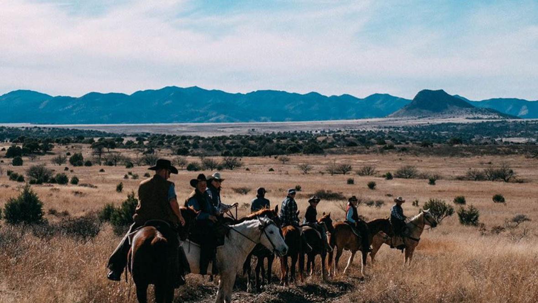 Trail ride at Circle Z Ranch