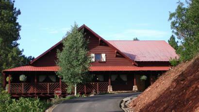The lodge at Colorado Trail Ranch