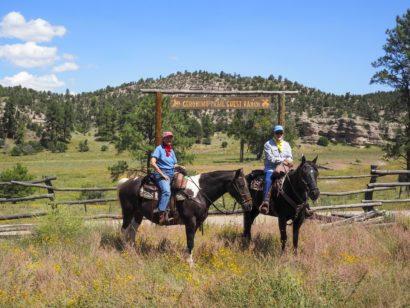 Trail ride at Geronimo trail