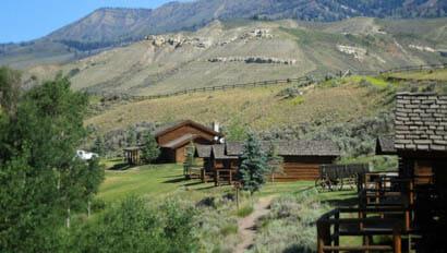 Cabins at Goosewing Rancn