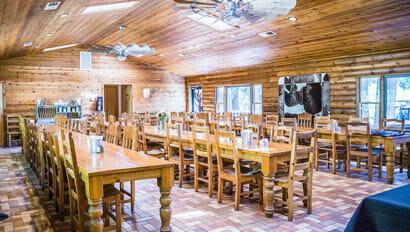 Dinning room at Greenhorn Ranch