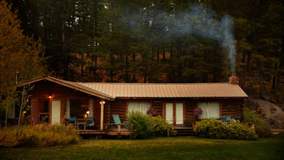 Cabin at Gros Ventre River Ranch