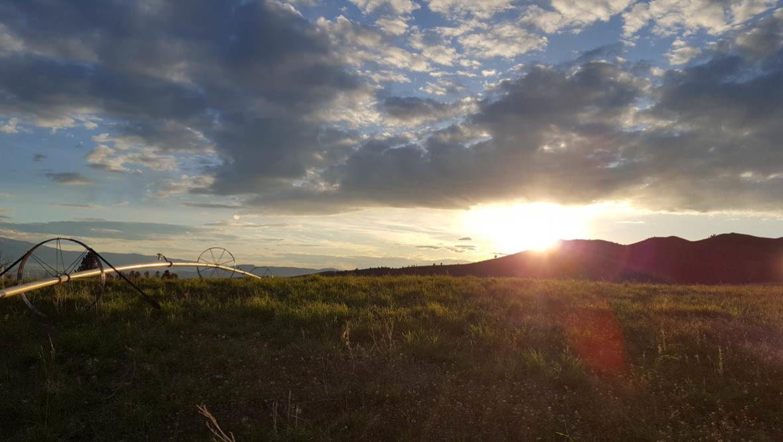 Sunset at Hidden Hollow Ranch