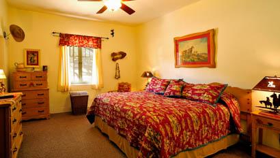 Lodge bedroom at Kay El Bar
