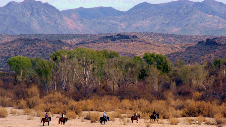 Ranch view at Kay El Bar