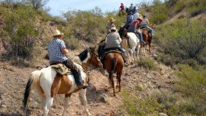 Trail ride at Kay El Bar