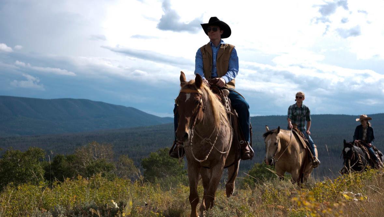 Trail ride at Latigo Dude Ranch