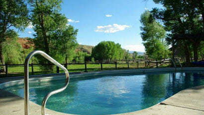 Pool at Lazy L&B Ranch