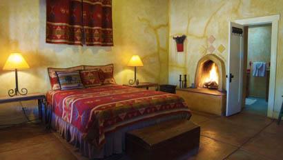 Lodge room at Rancho de la Osa