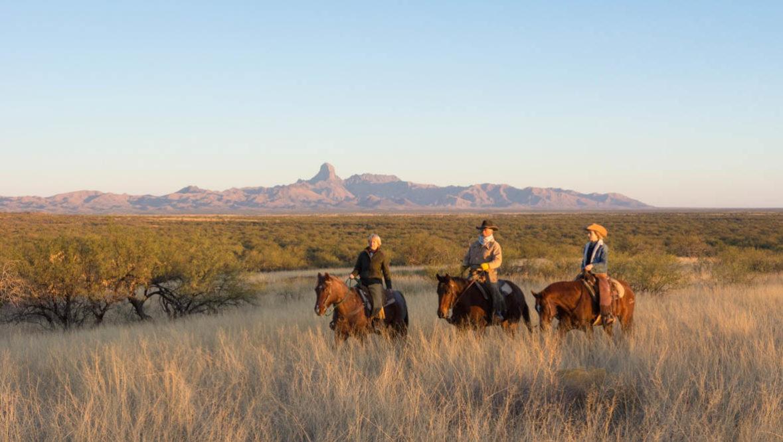 Wide open trail ride at Rancho de la Osa