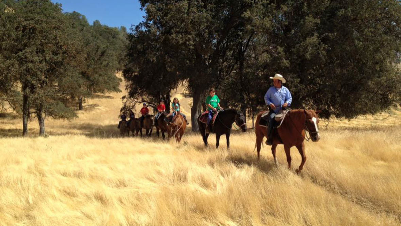Trail ride at Rankin Ranch