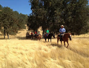 Trail ride at Rankin Ranch
