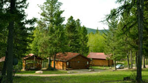 Lodging at Rich's Montana Guest Ranch