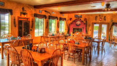 Dining room at Stagecoach Trail Guest Ranch