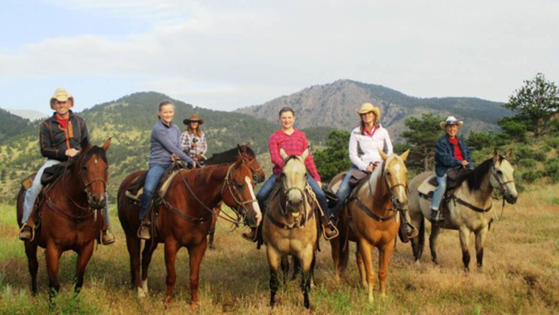 Sylvan Dale Ranch Breakfast ride