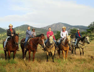 Sylvan Dale Ranch Breakfast ride