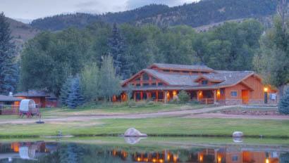 Sylvan Dale Ranch lake lodge