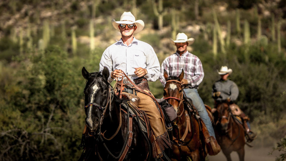 Tanque Verde Ranch trail riding