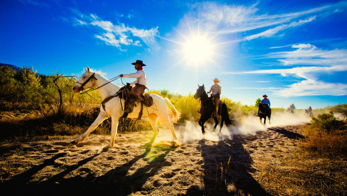 Tanque Verde Ranch trail ride