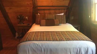 V6 Ranch cabin bedroom