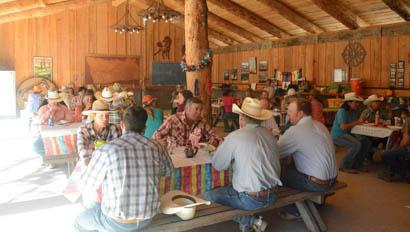 V6 Ranch dining hall