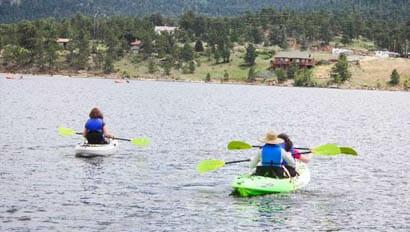 Wind River kayaking