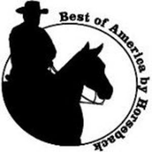 Best of America by Horseback logo