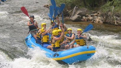 Sundance Trail Ranch white water rafting