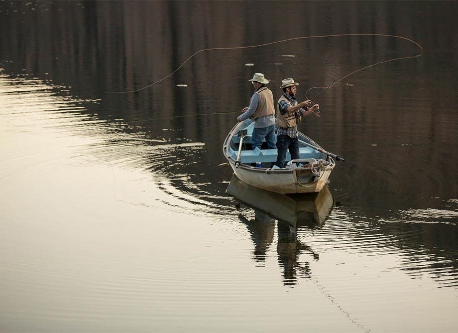 4UR Ranch Fly Fishing Boat