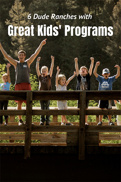 Memories created at dude ranches will be talked about for years! Read about 6 dude ranches that have great kids' programs to keep everyone entertained!