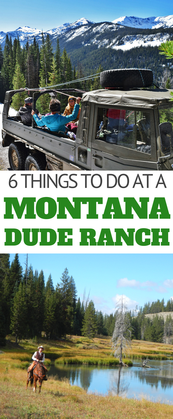 With more mountains and cattle than there are people Montana is a vast and beautiful play ground for outdoor activities, especially on a dude ranch vacation. Take the opportunity to slow down long enough to experience Montana in a unique and authentic way. Here are the top 6 things to do in Montana while at a guest ranch.