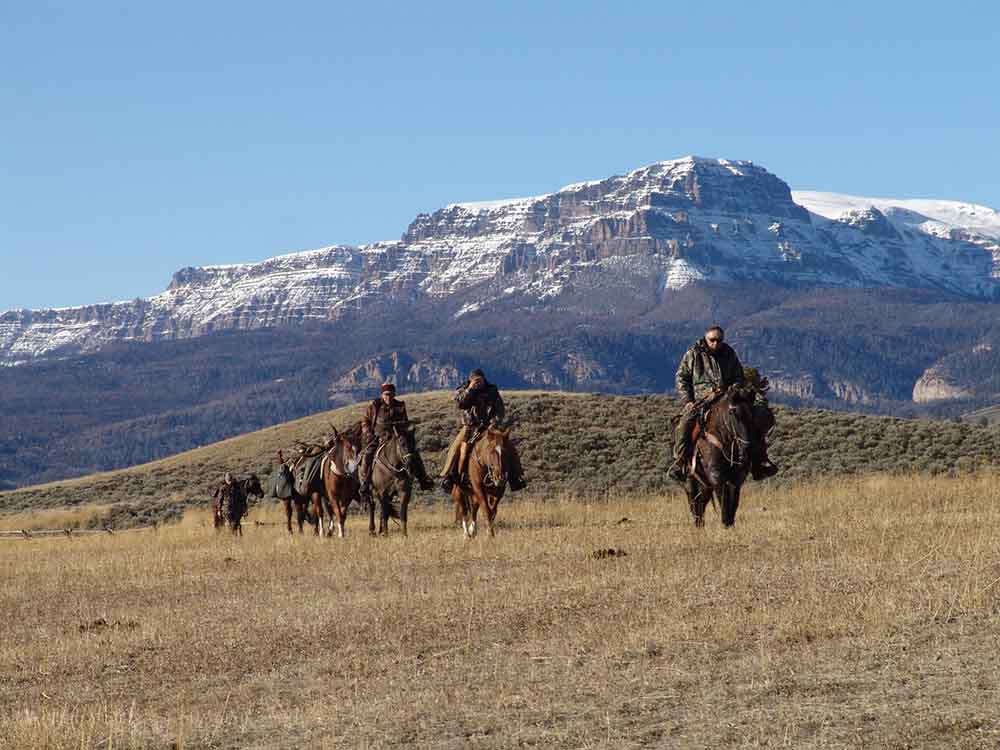 Absaroka Hunting Pack Trip Visit a dude ranch