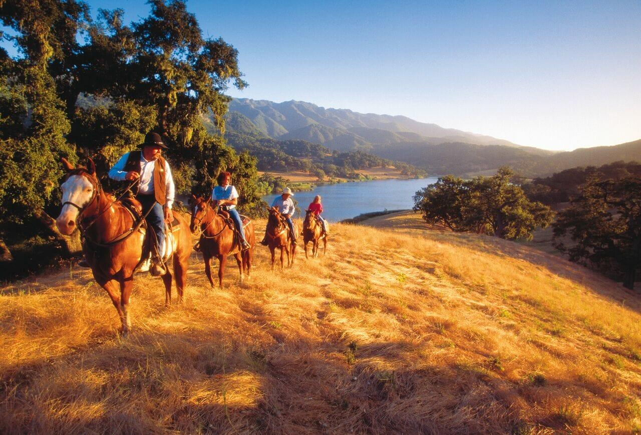 Alisal Guest Ranch Sunset