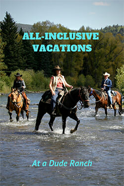 What would it be like to take a vacation where no detailed planning was involved? Find out on a unique, all-inclusive vacation at a DRA dude ranch!
