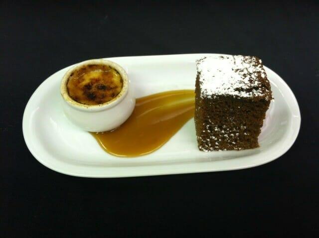 Applesauce and Gingerbread Cake from Vista Verde Ranch