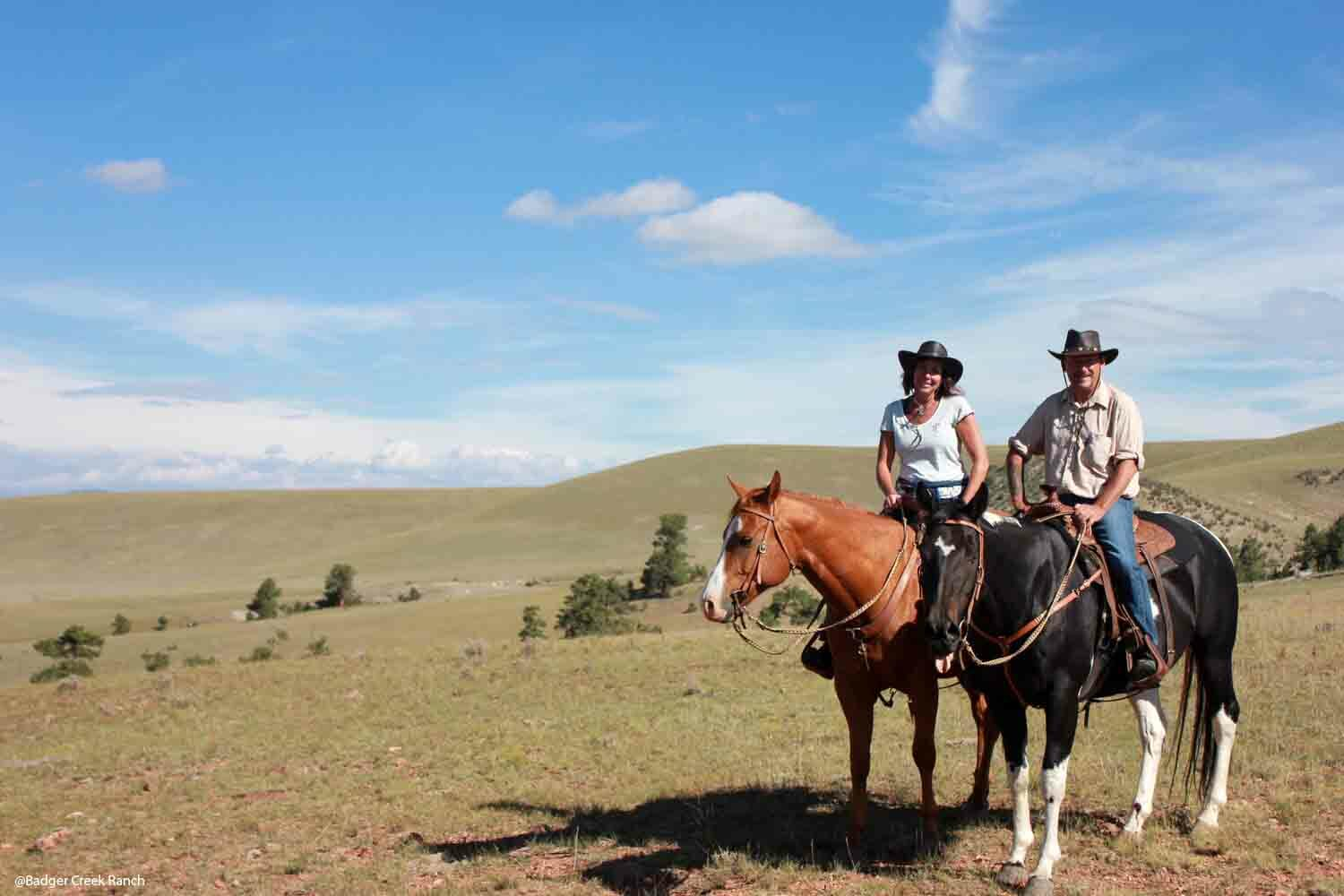 Badger Creek Ranch Dude Ranches the Experienced Rider
