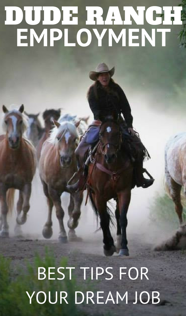 For the people who come to work, there are tremendous opportunities and experiences as well. Here are the best tips for acquiring dude ranch employment.