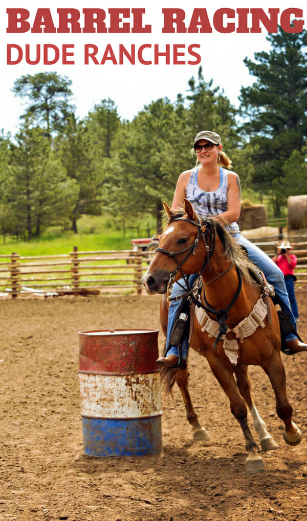 Your children have gone absolutely horse crazy and all you hear about is horseback riding camps and more riding lessons. So, how can you compromise on a family vacation and have lots of horsing around and barrel racing for your children and moderate amounts of all types of adventure recreation for the rest of your family? Well, a barrel racing ranch vacation of course! Take a look at these dude ranches who offer barrel racing for kids.