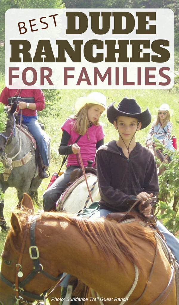 Are you planning your next family ranch vacation? Offering phenomenal kids programs, healthy food and outdoor adventures including horseback riding here are 10 of North America's best family ranch vacations on dude and guest ranches