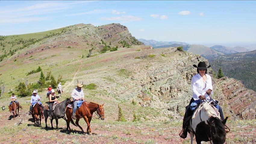 Blacktail Ranch Divide Ride Montana Activities