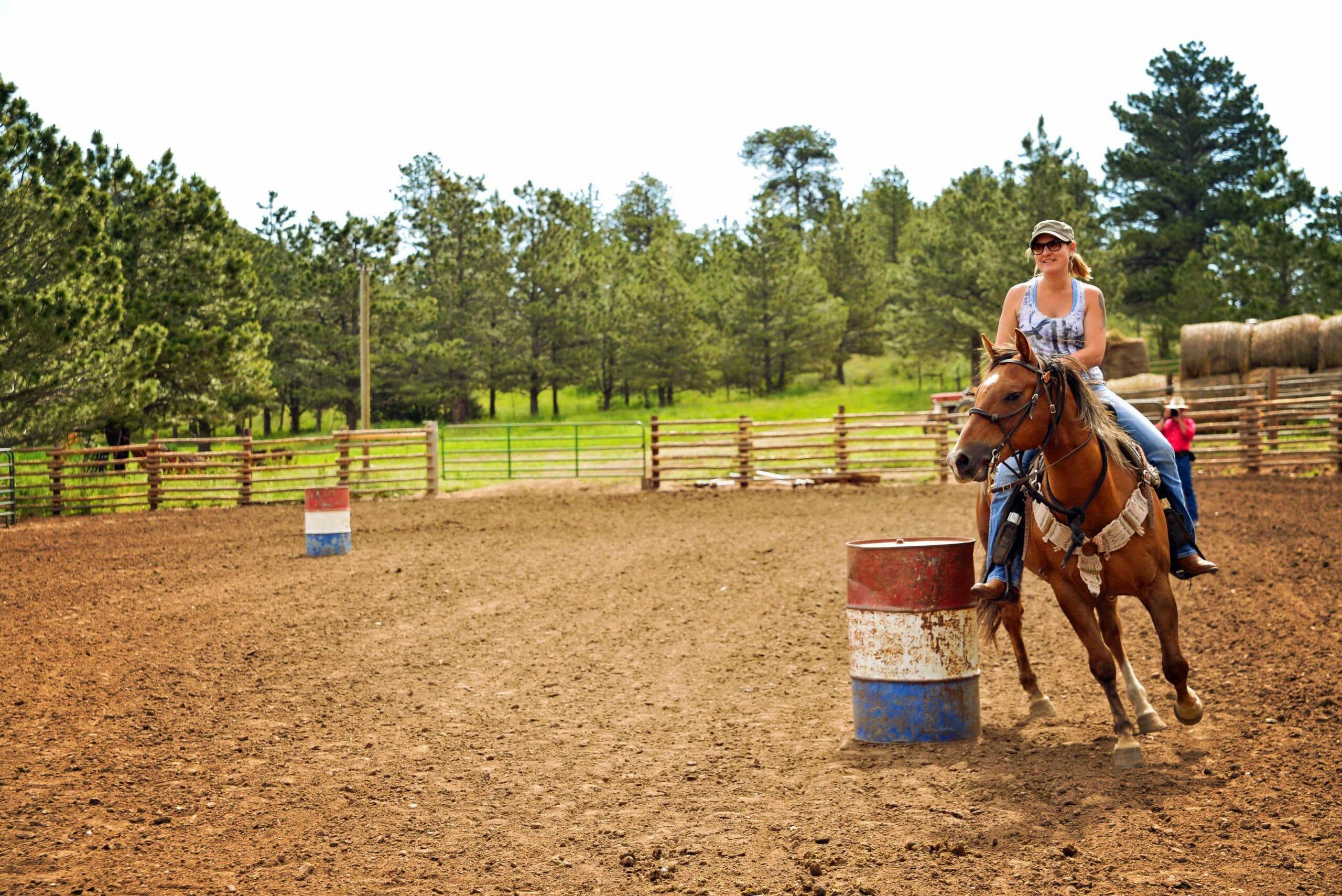 Cherokee Park Barrel Racing