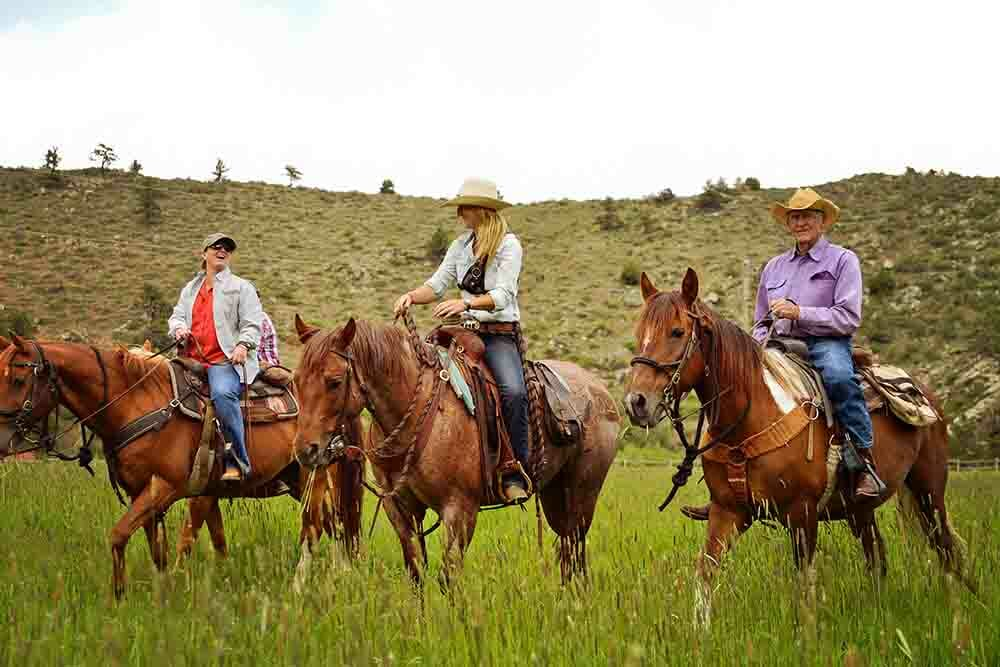 Cherokee Park Ranch Dude Ranches for the Experienced Riders