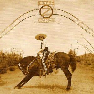 Circle Z Dude Ranch Cat Post Historical