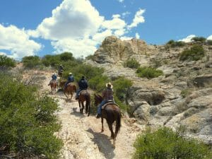Circle Z Ranch is a low altitude dude ranch in Patagonia, Arizona