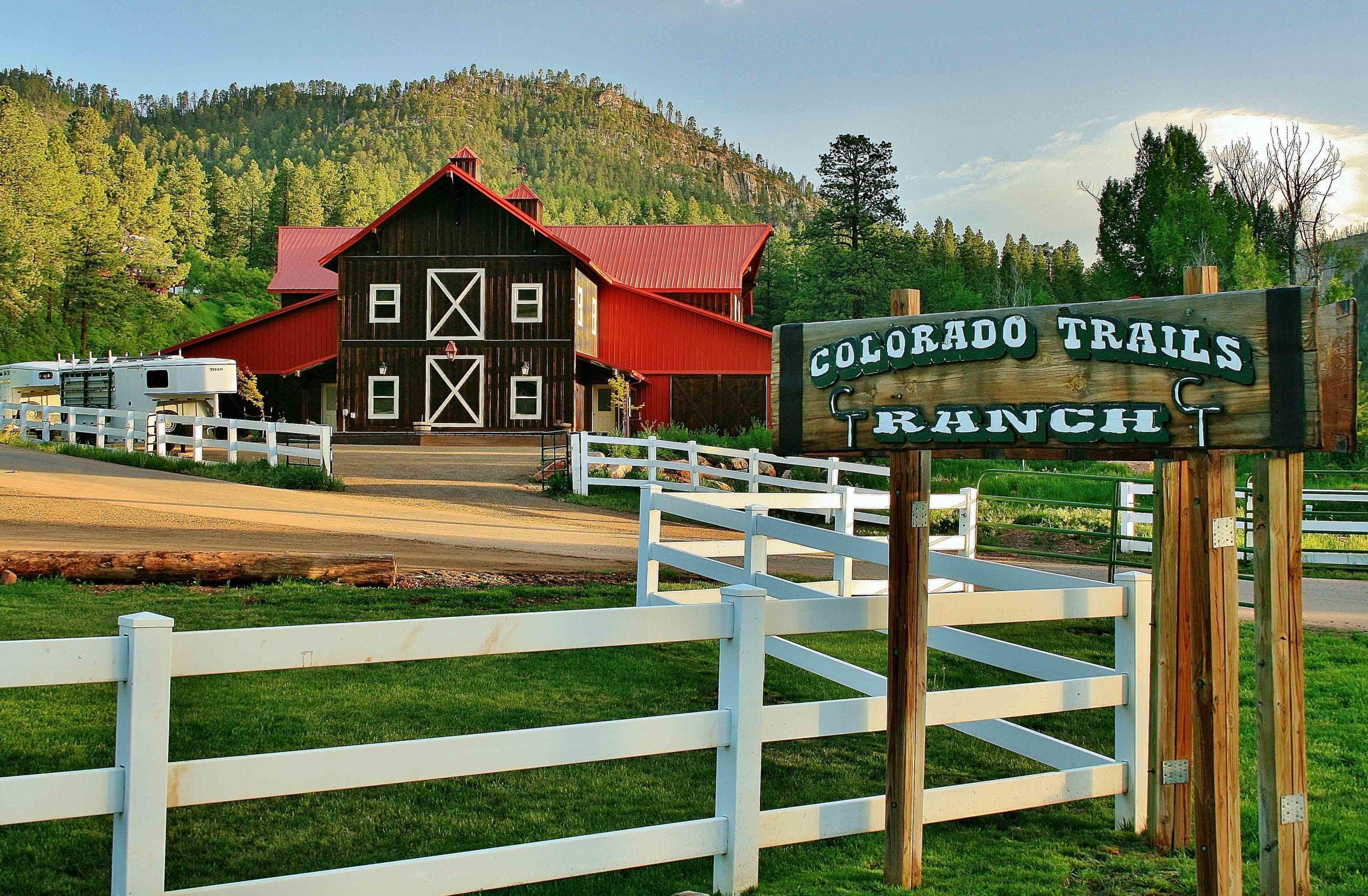 Colorado Trails Summer Vacation Dude Ranch
